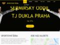 Náhled webu Dukla Praha