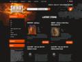 Náhled webu Shindy Productions