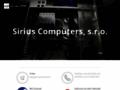 Náhled webu Sirius Computers