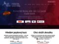 Náhled webu SJŠ Brno - Jazyková škola s právem SJZ