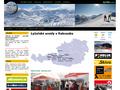 Náhled webu Centrum evropských lyžařských středisek