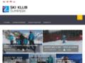 Náhled webu Ski Klub Šumperk