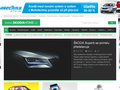 Náhled webu Škoda Fabia Club