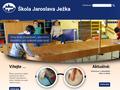 Náhled webu Speciálně pedagogické centrum pro zrakově postižené při Škole J. Ježka