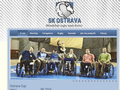 Náhled webu SK Ostrava