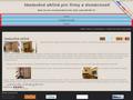 Náhled webu Vestavěné skříně pro firmy a domácnosti