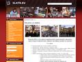 Náhled webu Slatr s.r.o. organizace kulturních akcí