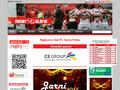 Náhled webu RC Slavia Praha