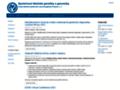 Náhled webu Společnost lékařské genetiky ČLS JEP