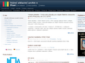 Náhled webu SOA Plzeň