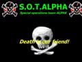 Náhled webu S.O.T. ALPHA