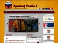 Náhled webu SK Spartak Praha 4