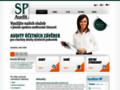 Náhled webu SP Audit