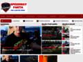 Náhled webu Speedway Fakta