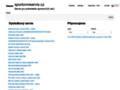 Náhled webu Sportovní servis