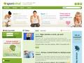 Náhled webu Zdraví, sport a zdravý životní styl.
