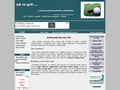 Náhled webu Jak na golf