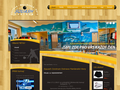 Náhled webu Squash Centrum Ostrava