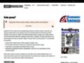 Náhled webu Společenství Romů na Moravě