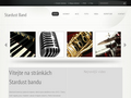 Náhled webu Stardust band