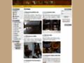 Náhled webu Starožitný nábytek