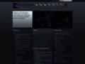 Náhled webu Stellarium