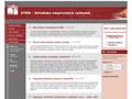 Náhled webu Středisko empirických výzkumů (STEM)