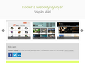 Náhled webu Štěpán Mátl