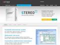 Náhled webu Stereo
