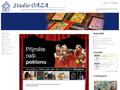 Náhled webu Studio OÁZA