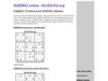 Náhled webu Su-Do-Ku.org