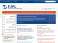 Náhled webu Státní ústav pro kontrolu léčiv