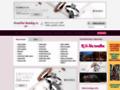 Náhled webu Svatební katalog