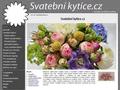 Náhled webu Svatební kytice.cz