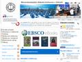 Náhled webu Moravskoslezská vědecká  knihovna v Ostravě