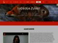 Náhled webu Nadace na ochranu práv zvířat