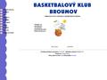 Náhled webu BK Broumov