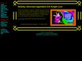 Náhled webu Knight Lore