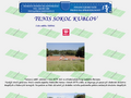 Náhled webu Tenisový klub Kublov