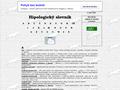 Náhled webu Hipologický - koňský slovník