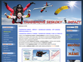 Náhled webu Klub Adrenalinových Sportů