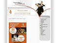 Náhled webu Taneční škola manželů Hofmannových Most