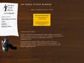 Náhled webu Tap Dance Studio Blansko