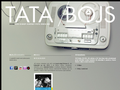 Náhled webu Tatabojs