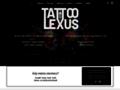 Náhled webu Tattoo Lexus