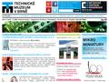 Náhled webu Technické muzeum v Brně