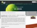 Náhled webu Tenisový klub SK Mělník