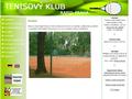 Náhled webu Tenisový klub Rapid Praha