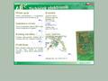 Náhled webu Ticháček elektronik