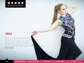Náhled webu Fashion studio Tilei